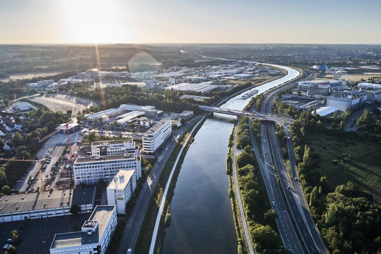 Großstadtoasen Nürnberg, Main-Donau-Kanal